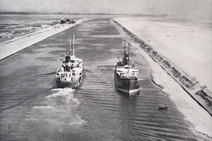 The Suez Canal before 1934
