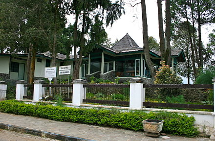 The Suharto-Whitlam House in Dieng Plateau, Indonesia, where Whitlam discussed the future of East Timor with Indonesia's President Suharto in 1974 Suharto-Whitlam House.JPG
