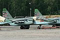 Sukhoi Su-25SM Frogfoot RF-95482 05 red (8503597078).jpg