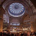 Sultan Ahmed Mosque interior - Istanbul, Turkey - panoramio.jpg