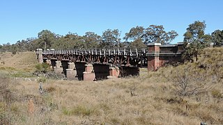 Tenterfield Creek railway bridge, Sunnyside