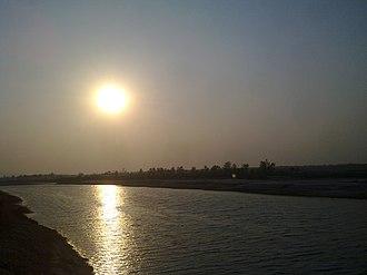 Golaghat - Dhansiri River view