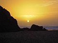 Sunset at the beach (15561653660).jpg