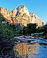 Sunset on Virgin River, Zion 4-14 (15744685988).jpg