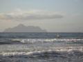 Surfers at Honeymoon Bay in summer morning.jpg