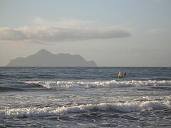 Surfing in Yilan