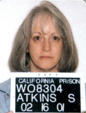 Susan Atkins - Susan Atkins mug shot in 2001