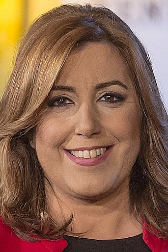 2017 Spanish Socialist Workers' Party leadership election - Image: Susana Díaz 2016f (cropped)