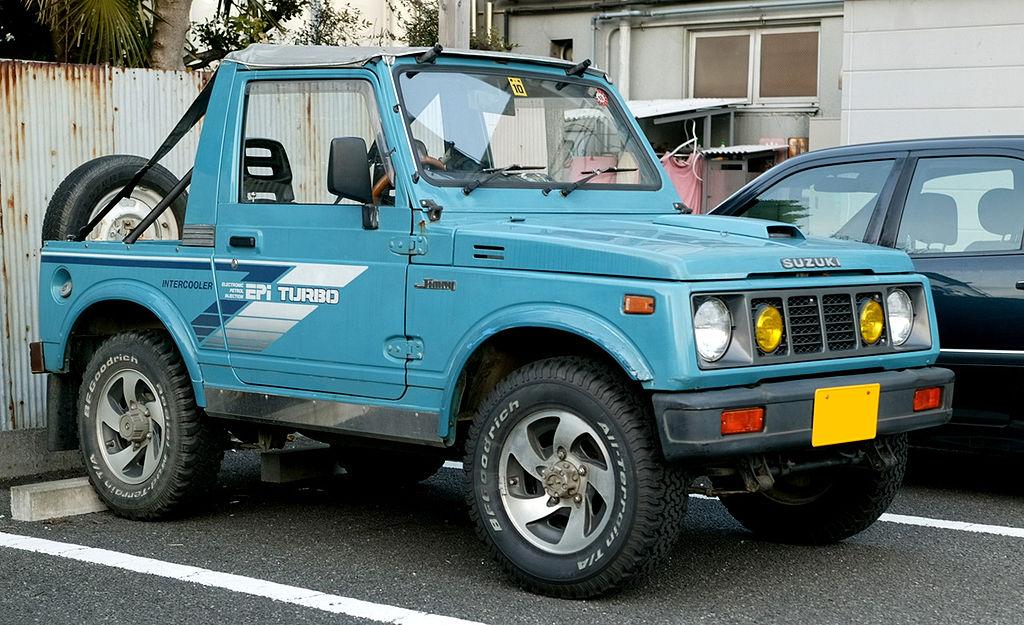 Suzuki Jimny Pink