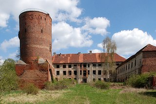 Swobnica Village in West Pomeranian Voivodeship, Poland