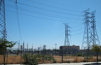Pacific DC Intertie - Sylmar East station, rededicated as the Sylmar Converter Station in 2005 following the upgrade to 3,100 MW.