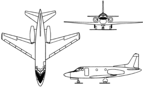 Image illustrative de l'article North American Sabreliner