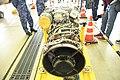 T700-IHI-401C2 turboshaft engine behind top view at Maizuru Air station May 18, 2019.jpg