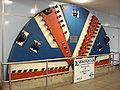 TBM Cutter Head at Cutty Sark DLR station.jpg