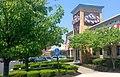 TGI Fridays Restaurant 6 2014 Waterbury CT. TGI Friday's Logo Sign pic by Mike Mozart of TheToyChannel and JeepersMedia on YouTube. -TGIFridays -Fridays -TGIFridaysRestaurant -TGIFridaysSign -TGIFridaysLogo -TGI -Fridays (14163187459).jpg