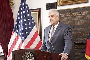 Thomas Rivera Schatz President of the Senate of Puerto Rico