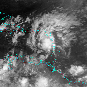1993 Atlantic hurricane season - Image: TS Cindy (1993)