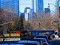 TTC bus on Mill Street, 2016 03 19 (2) (25284623024).jpg