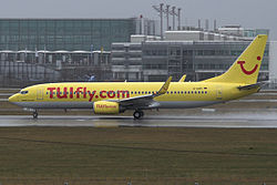 TUIfly Boeing 737-800 D-AHFI at Munich Airport