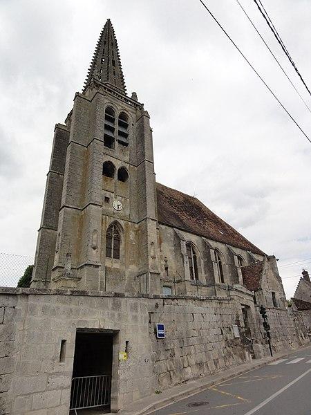 Taillefontaine (Aisne) église