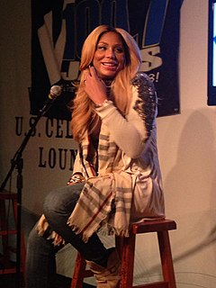 Tamar Braxton American singer, actress, and television personality