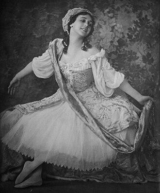 Tamara Karsavina - Tamara Karsavina (c. 1912)