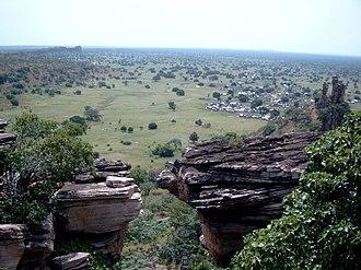 Tambaga Department - Panorama near Tambaga town
