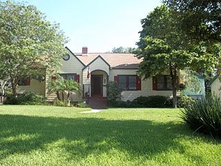 Hampton Terrace Historic District human settlement in Tampa, Florida, United States of America