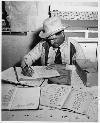 Taos County, New Mexico. Foreman of Talpa Ditch Commission - NARA - 521997.jpg