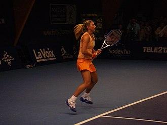 Tatiana Golovin - Golovin at the 2007 Fortis Championships Luxembourg