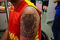 Tatuaje de un toro en momoria de su padre.jpg