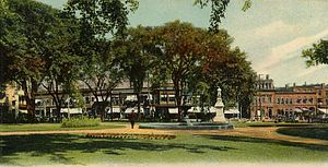 Taunton Green Historic District - Image: Taunton Green, Taunton, MA