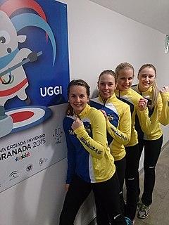 Sara McManus Swedish curler