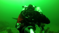 Technical diver doing a three tank dive at Whytecliff Park.png