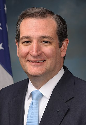 2016 United States presidential election in Texas - Image: Ted Cruz, official portrait, 113th Congress (cropped 2)