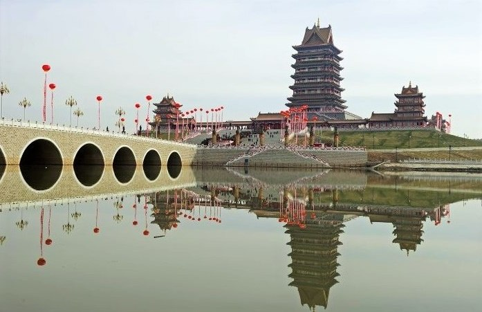 Temple of the Mother Goddess of the Yellow River in Qingtongxia, Ningxia