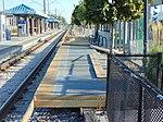 Temporary platforms at Millcreek station, Aug 16.jpg