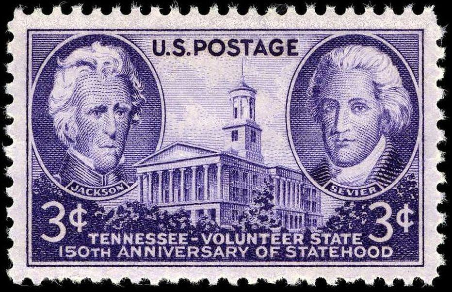 Tennessee Statehood 1946 Issue3c