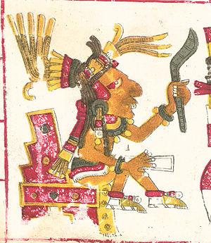 Tepoztecatl - Tepoztecatl, described in the Codex Borgia
