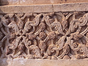 Terracotta work on Radhashyam Temple, Bishnupur 2.JPG