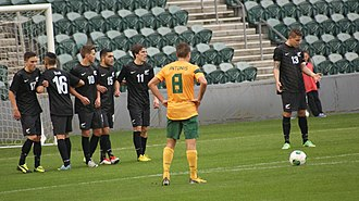 Terry Antonis - Terry Antonis playing for the Young Socceroos in 2013.