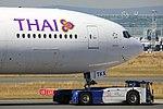 "Thai Airways International Boeing 777-3D7-ER HS-TKX ""Sudharma"" (29633254151).jpg"