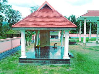 Thalavoor village in Kerala, India