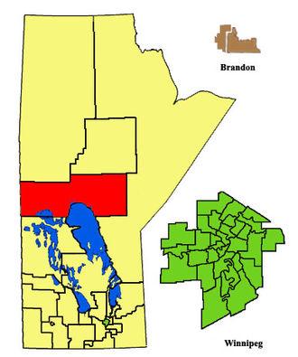 The Pas (electoral district) - Image: The Pas ED2011