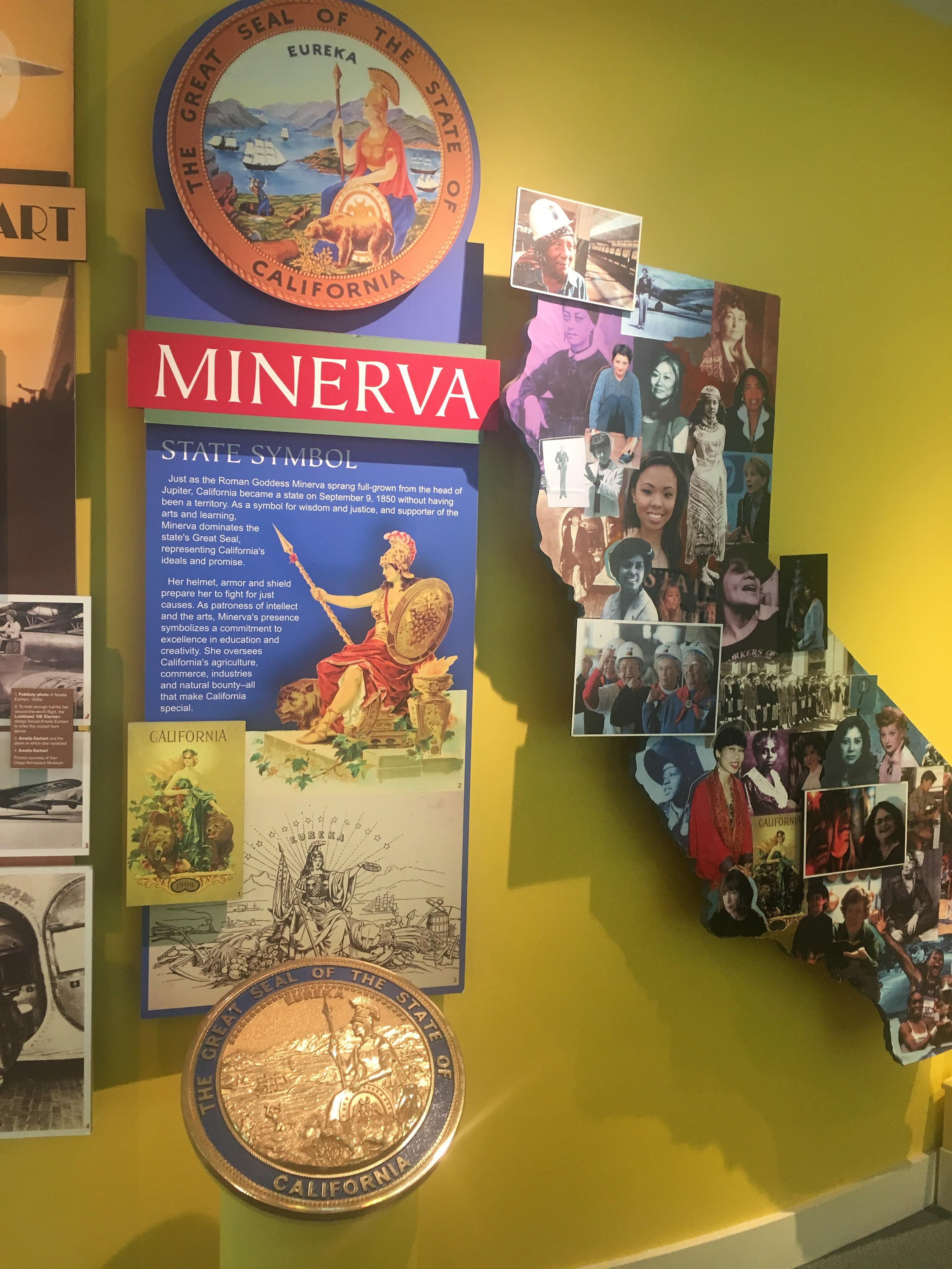 Filethe Ca Museum State Symbols Minerva Exhibitg Wikimedia Commons