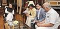 The Chief Minister, Andhra Pradesh, Shri N. Chandrababu Naidu meeting the Union Minister for Finance, Corporate Affairs and Information & Broadcasting, Shri Arun Jaitley, in New Delhi.jpg