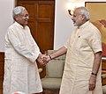 The Chief Minister of Bihar, Shri Nitish Kumar calls on the Prime Minister, Shri Narendra Modi, in New Delhi on August 23, 2016.jpg