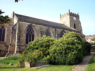 Up Holland - Image: The Church of St Thomas the Martyr, Upholland geograph.org.uk 2056849
