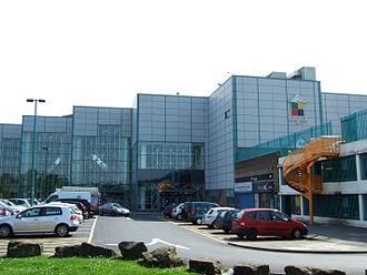 Skelmersdale - Image: The Concourse, Skelmersdale