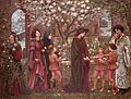 The Enchanted Garden of Messer Ansaldo, by Marie Spartali Stillman.jpg